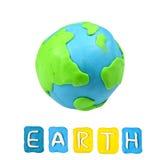 Color children's earth plasticine Royalty Free Stock Photo