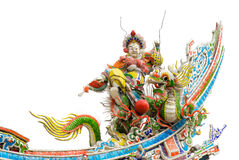 Color Chinese god Stock Image
