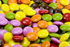 Color chocoloate dragee Stock Photography