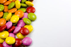 Color chocoloate dragee Royalty Free Stock Photo