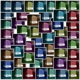 Color choice Royalty Free Stock Photos