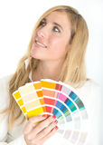 Color choice Royalty Free Stock Photography