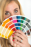 Color choice Stock Photography