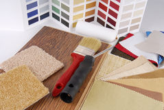Color choosing for interior Royalty Free Stock Photo