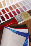 Color choosing for interior Royalty Free Stock Image