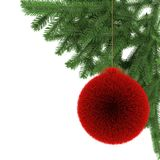 Color christmas ball Stock Images