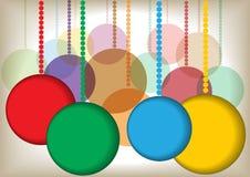 Color christmas balls Royalty Free Stock Photography