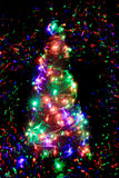 Color christmas tree Royalty Free Stock Photography