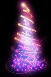 Color christmas tree Stock Photography
