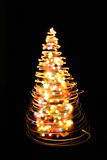 color christmas tree Royalty Free Stock Images