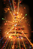 color christmas tree Royalty Free Stock Photo