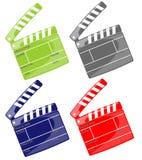 Color ciack Stock Photo