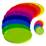 Color circles Royalty Free Stock Photo