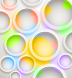 Color circles background Royalty Free Stock Photography