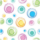 Color circles mosaic Stock Photos