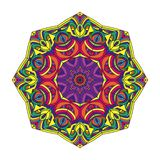 Color circular pattern Royalty Free Stock Image