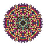Color circular pattern. Vector illustration royalty free illustration