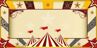 Color circus invitation Royalty Free Stock Photography
