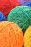 Color clews for knitting Stock Photo