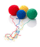 Color clews for knitting Royalty Free Stock Image