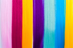 Color clip in hair Stock Images