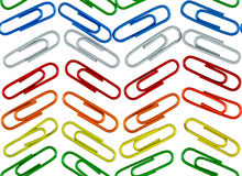 Color clips Royalty Free Stock Images