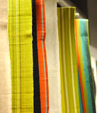 Color  cloths Royalty Free Stock Images
