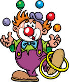 Color clown Stock Image