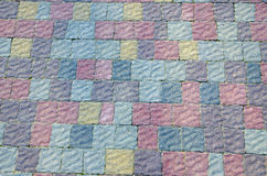 Color cobbled road Stock Images