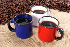 Color Coffee stock photo