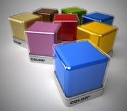 Color collection Stock Photos