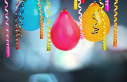 Bunch of colorful balloons on background. Color colorful bunch balloons green fun red royalty free stock photos