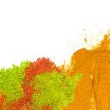 Color colorido del polvo Imágenes de archivo libres de regalías