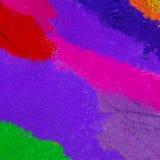 Color colorido del polvo Imagen de archivo libre de regalías