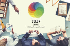 Color Colourful Shade Hue Concept Royalty Free Stock Image