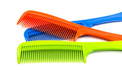 Color  comb on  white background. Stock Image
