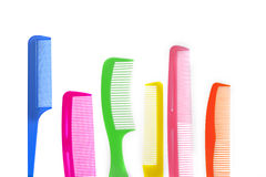 Color Combs Stock Photography