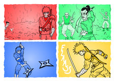 Color comic Stock Photo