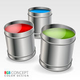 Color Concept Stock Photography