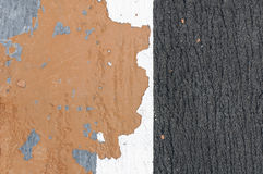 Color concreto del decaimiento Foto de archivo