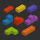 Color constructor blocks Stock Image
