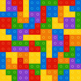 Color constructor blocks Royalty Free Stock Image