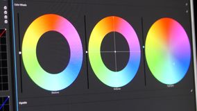 Color correction Ring stock footage