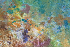 Color crackled background, with spots. Royalty Free Stock Images