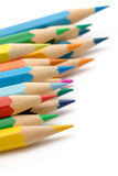 Color crayons Stock Photography