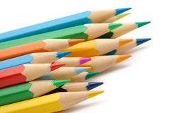 Color crayons Royalty Free Stock Photo