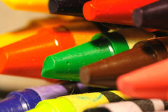 Color crayons Royalty Free Stock Image
