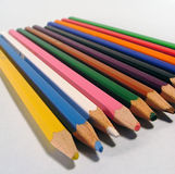 Color crayons Royalty Free Stock Images