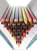 Color crayons Royalty Free Stock Photography