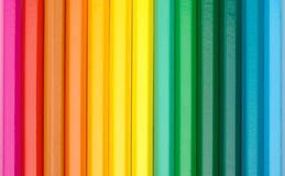 Color crayons background Stock Photo